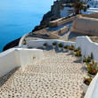 Santorini, the stairway to the sea — Stock Photo