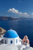 Church of the island of Santorini — Zdjęcie stockowe
