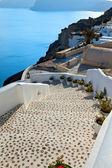 Santorini, the stairway to the sea — Stock Photo