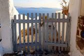 Porta in vacanza — Foto Stock