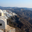 Church of the island of Santorini - Stock Photo