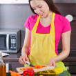 Woman in the kitchen — Stock Photo #27246107