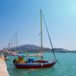 Zakynthos, Greece, sea port — Stock Photo