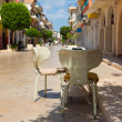 Street Zakynthos, Greece — Stock Photo
