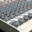 Audio mix panel — Stock Photo #42384355