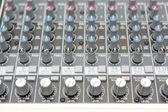 Audio mix panel — Stock Photo