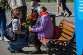Victory day in Moscow — Stock Photo