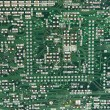 Stock Photo: Abstract background with computer circuit board