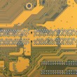 Abstract background with computer circuit board — Stock Photo