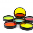 Stock Photo: Color filters for lenses