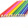 Color pencils over white — Stock Photo #18584549