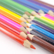 Multi color pencils — Stock Photo