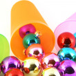 Stock Photo: Color christmas decorations