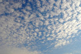 Blue sky with clouds — Stockfoto