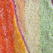 Color towel macro texture — Stock Photo