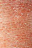 External texture of clay pot — Stock Photo