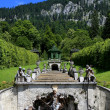Linderhof palace, Germany — Stockfoto