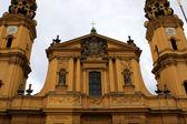 Kościół teatynów w monachium — Zdjęcie stockowe
