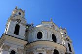 Collegiate church, Salzburg — Stock Photo