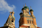 St. Nicholas Orthodox Cathedral, Nice — Stock Photo
