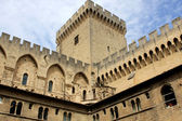 Papal palace, Avignon, France — Stock Photo