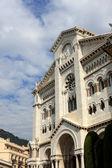 Monaco cathedral — Stock Photo