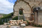 Ruins of Monfort castle, Israel — Stock Photo