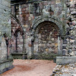 Stock Photo: Ruins of Holyrood Abbey, Edinburgh