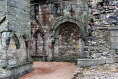 Ruins of Holyrood Abbey, Edinburgh — Stock Photo