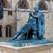 Statue ofConstantine the Great, York, England — Stok fotoğraf
