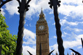 De Big ben clock tower, Londen — Stockfoto