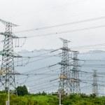 Power plant near the Three Gorges Dam — Stock Photo