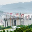 View of the Three Gorges Dam on the Yangtze River in China — Stock Photo #14791737