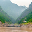 Постер, плакат: Journey on the Yangtze River along the mountains