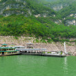 Cove on the Yangtze River for tourists — Stock Photo