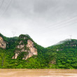 Travel by boat on the Yangtze River — Stock Photo