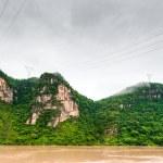 Travel by boat on the Yangtze River — Stock Photo