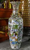 美丽中国瓷器花瓶 — 图库照片