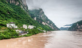 Travel on the Yangtze Rive — Stock Photo