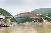 Chinese Yangtze River Bridge — Stock Photo