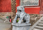 Statua di pietra — Foto Stock