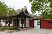 Traditional Chinese house — Stock Photo