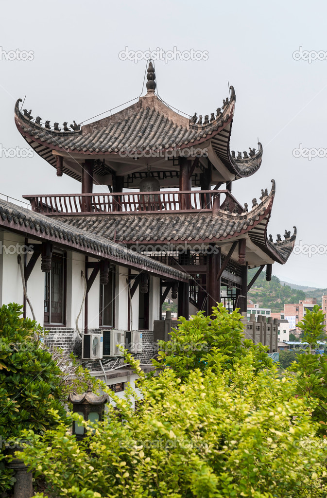 Traditionelle chinesische haus stockfoto 16893001 for Traditionelles chinesisches haus