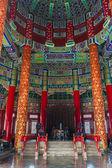 внутри храм неба — Стоковое фото