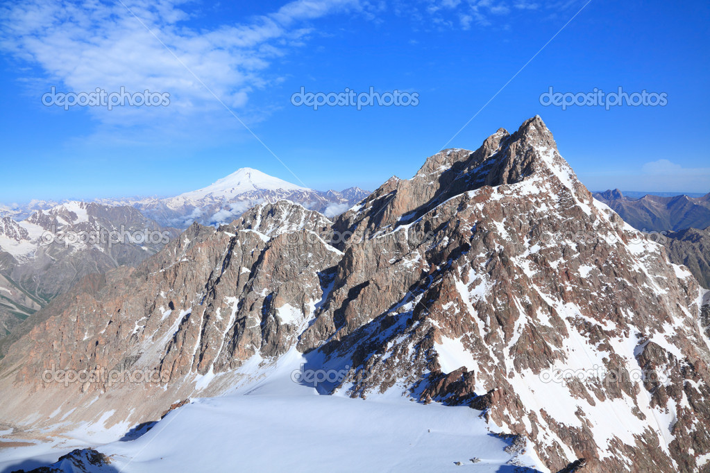 View from the mount Dzhaylyk — Stock Photo #12044595