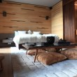 Chic bedroom interior - Zdjcie stockowe
