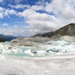 Rhone Glacier — Stock Photo