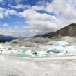 Rhone Glacier — Stock Photo