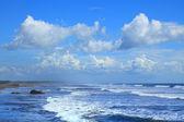 Poneloya beach — Stock Photo