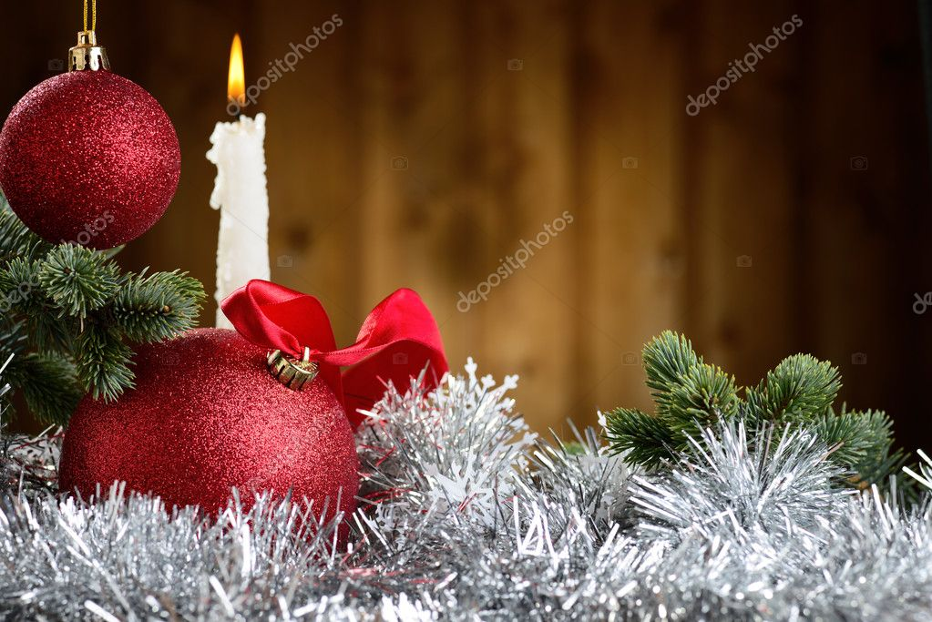 Merry Christmas and Happy New Year — Foto de Stock   #14710903